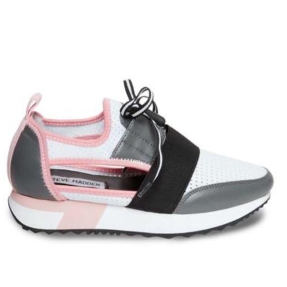 Steve Madden Arctic Grey Multi Sneakers